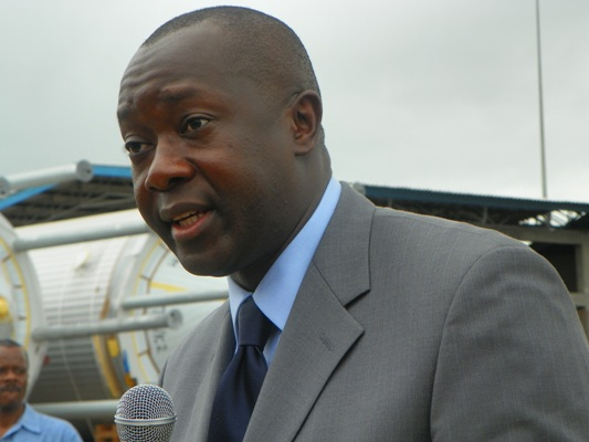 Finance Minister Amara Konneh