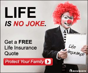 ... Life Insurance Quotes. Courtesy   AccuQuote.com At Flickr.com