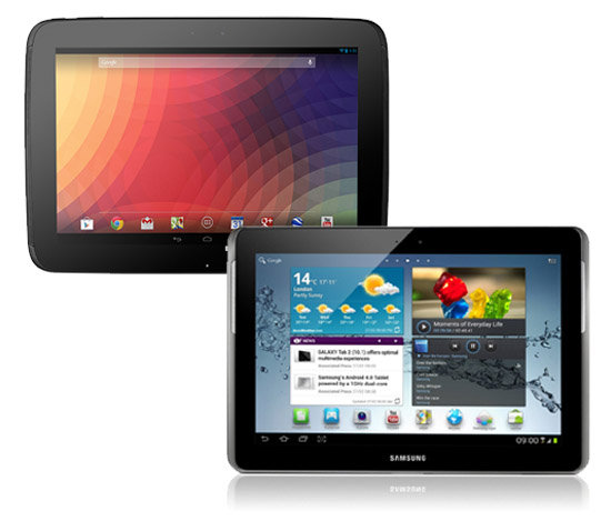 Nexus_10_vs_Samsung_Galaxy_Tab_2_10.1