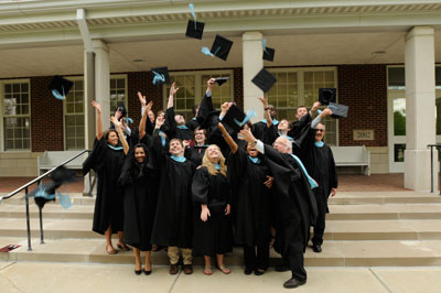 Photo of some happy graduates by Earlham College from Flickr.com
