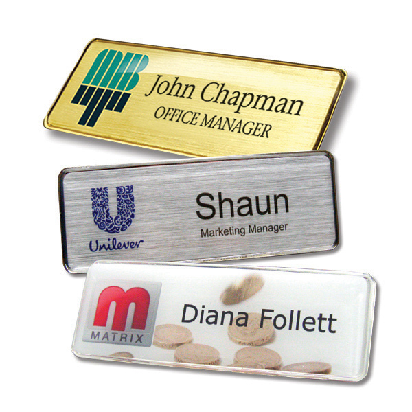 Personalised Name Badges - What Purpose Do They Serve?