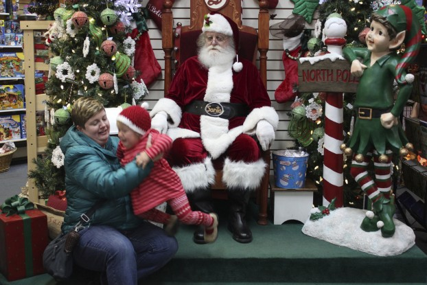 Who Sits On Santa's Lap Anymore?
