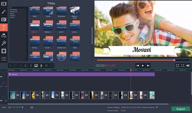Rotating A Video With Movavi Video Editor