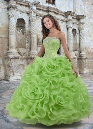 Lemon & Lime Wedding Dress