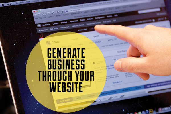 Generate Business Through Your Website