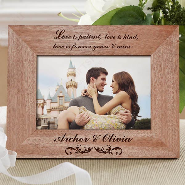 Personalised Photo Frames For Weddings – Getting It Right