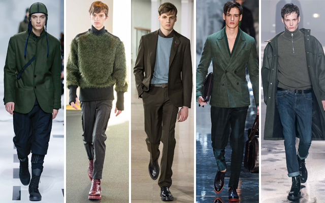 Men's Winter Fashion Trends For 2015