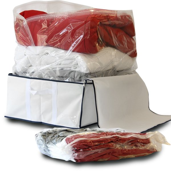 Have Less Space Then Apply Vacuum Bags