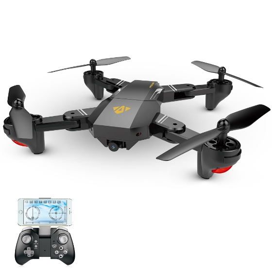 VISUO XS809W RC Quadcopter Review