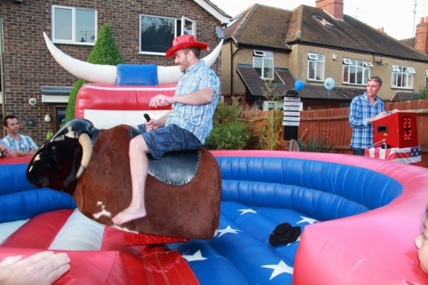 Bull Ride An Ultimate Fun Device For All Aged People