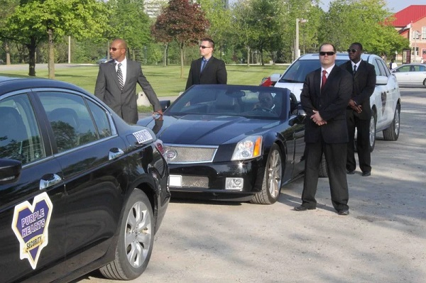 Close Protection from Professional Security Operatives