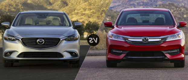 What's Different Between 2018 Mazda 6 and 2018 Honda Accord