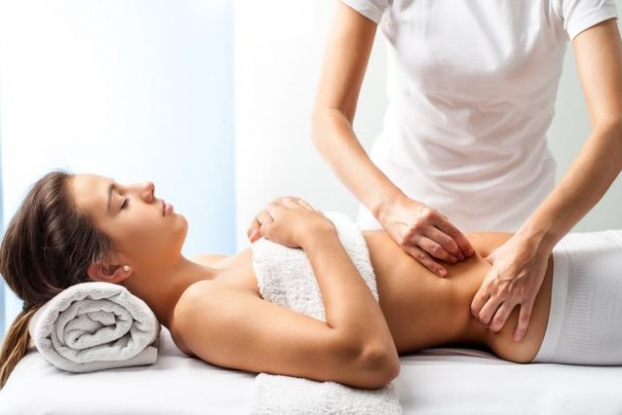 Stomach-Massage
